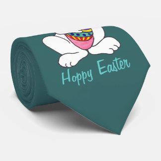 Rolig påskhare & ägg - anpassadeTie Slips