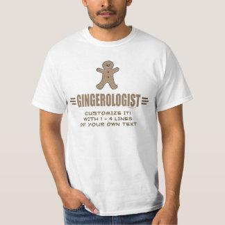Rolig pepparkaka tee shirts