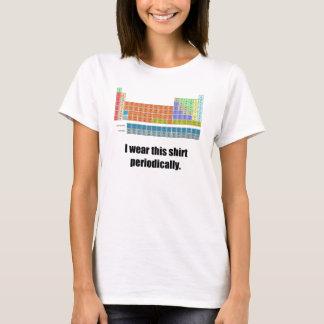 Rolig periodisk skjorta tshirts
