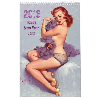 ROLIG personifierad kalender FÖR HONOM