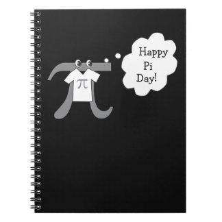 Rolig Pi-grabb - lycklig Pi-dag Anteckningsbok