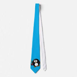 Rolig pingvinTie - tittar kor:) Slips