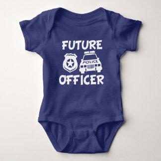 Rolig pojkeskjorta för framtida polis t shirts