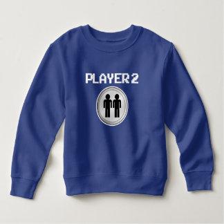 Rolig pojketröja för spelare 2 t-shirt