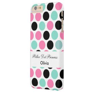Rolig polka dots för Princess Med Barely There iPhone 6 Plus Skal