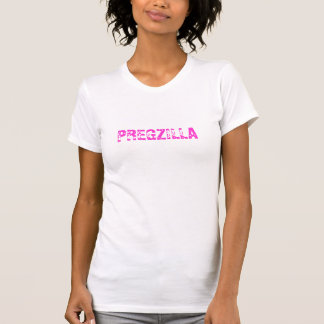 Rolig Pregzilla gravid kvinna - T-tröja Tshirts