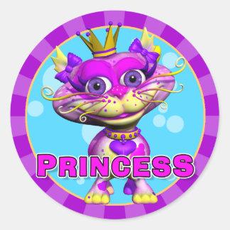 Rolig Princess Klistermärke
