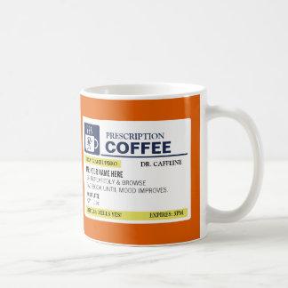Rolig receptkaffemugg kaffemugg
