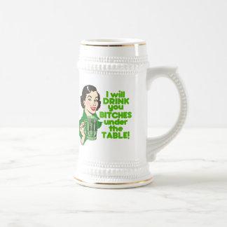 Rolig Retro irländsk dricka humor Sejdel