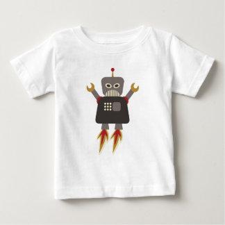 Rolig Retro raketrobot Tee Shirts