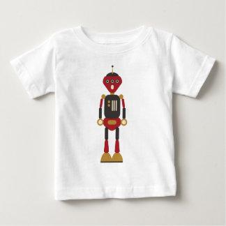 Rolig Retro robot 3-Eyed Tshirts