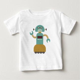 Rolig Retro rullrobot Tee Shirt