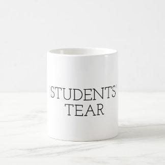 Rolig REVA för STUDENTER för läraremugggåva Vit Mugg