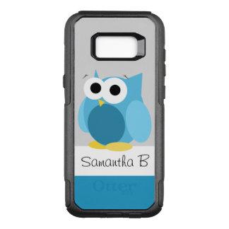 Rolig Samsung för blåttugglapersonlig galax S8 OtterBox Commuter Samsung Galaxy S8+ Skal