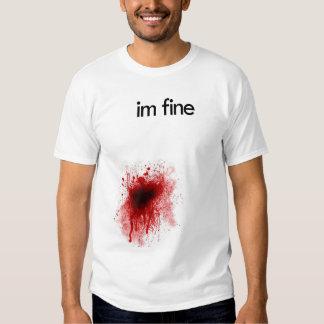 Rolig sårad T-tröja Tshirts