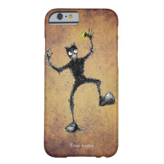 Rolig Scribbly robotDude Barely There iPhone 6 Skal
