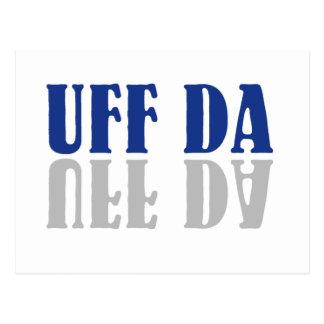 Rolig skandinav för UFF DA Vykort
