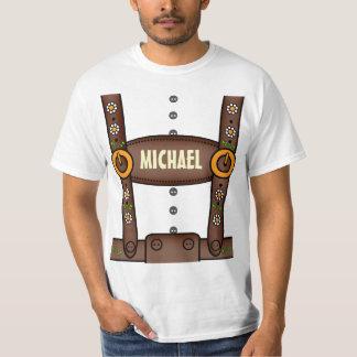 Rolig skjorta för personligLederhosenoktoberfest T-shirts