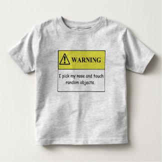 Rolig skjorta för småbarn T Tröjor