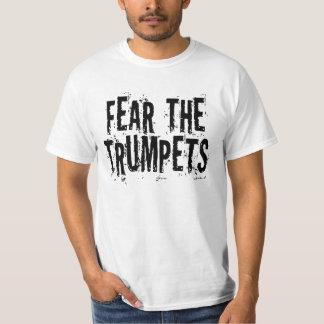 Rolig skräck trumpetgåvan t shirt
