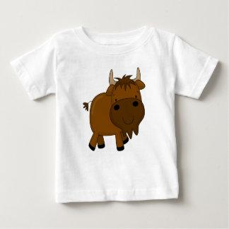 Rolig småbarnskjorta för buffel t shirt