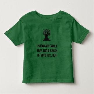 Rolig småbarnstamträdskjorta tee shirt