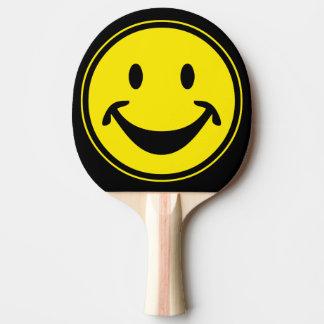 Rolig Smileygult + din backg. & idéer Pingisracket