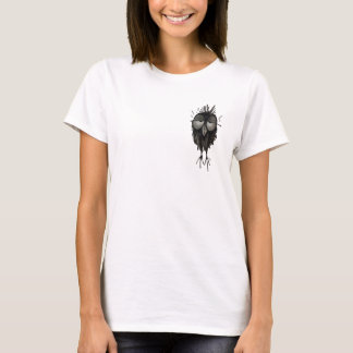 Rolig sömnig uggla t-shirt