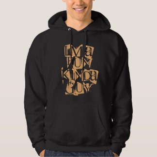 Rolig sort av grabben hoodie