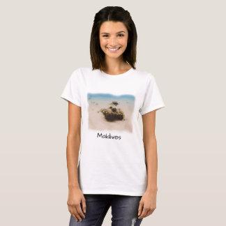 Rolig souvenir för Maldiverna korallfisk Tröjor