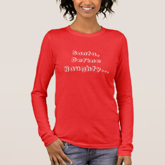 Rolig stygg julTshirt för damer T Shirt