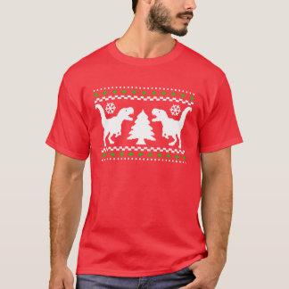 Rolig T-Rex ful jultröja Tee Shirt