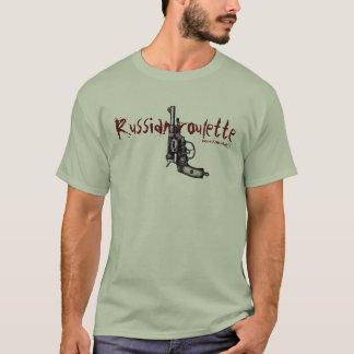 Rolig t-skjorta för rysk revolver för roulett tröja