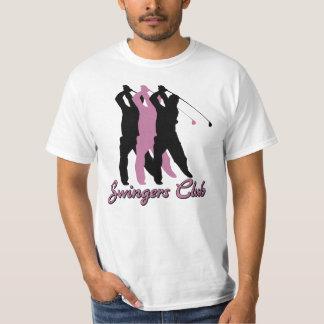 Rolig T-tröja för GolfSwingersklubb T Shirts