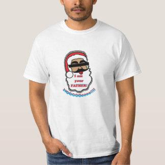 Rolig T-tröja för jultomten Tee Shirt