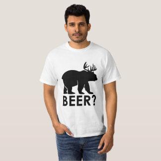 Rolig T-tröja för ölvitsGag T-shirts
