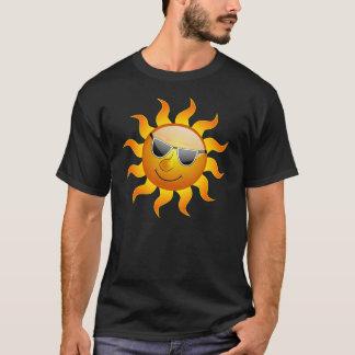 Rolig T-tröja för sommarsol Tee