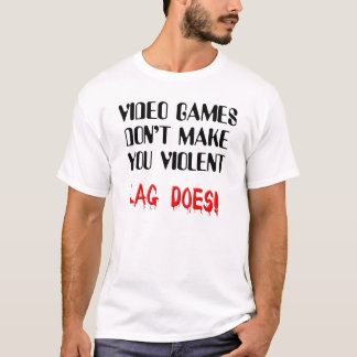 Rolig T-tröja för videospelfängelsekundvåld Tshirts