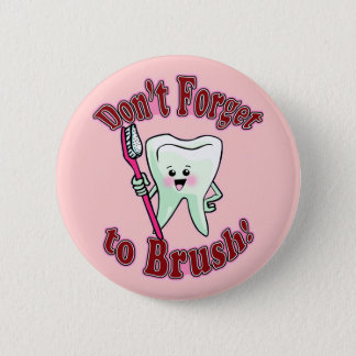 Rolig tandhygienist standard knapp rund 5.7 cm