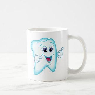 Rolig tandhygienist vit mugg