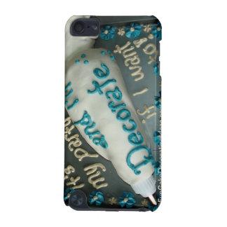 Rolig tårta som dekorerar idéer - isläggning iPod touch 5G fodral