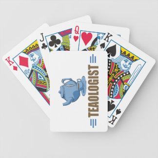 Rolig Tea Spelkort