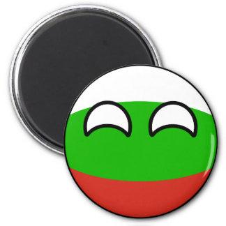 Rolig tendera Geeky Bulgarien Countryball Magnet