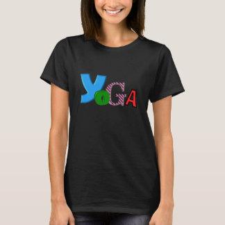 Rolig textdesign - skjortor för Yoga T för kvinnor Tshirts
