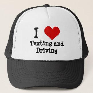 Rolig texting och körning keps