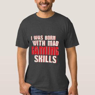 Rolig tokig dobbelexpertis för Geek och för T Shirt