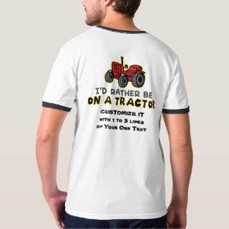Rolig traktor t shirt