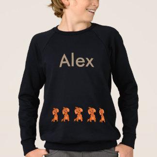 Rolig tröja för barn - lycklig