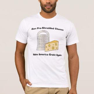 Rolig trumf gör Amerika underbar ost (för T-shirt