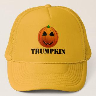 Rolig trumfTrumpkin pumpa Halloween Keps